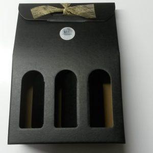 3-flessen-zwart-open-gouden-strik